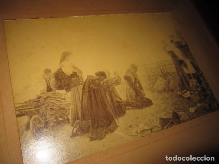 Arte: Fotograbado circa 1900 firmado dedicado Joaquín Luque Roselló Carlos Lamothe, Salve Regina. Málaga - Foto 10 - 232740310