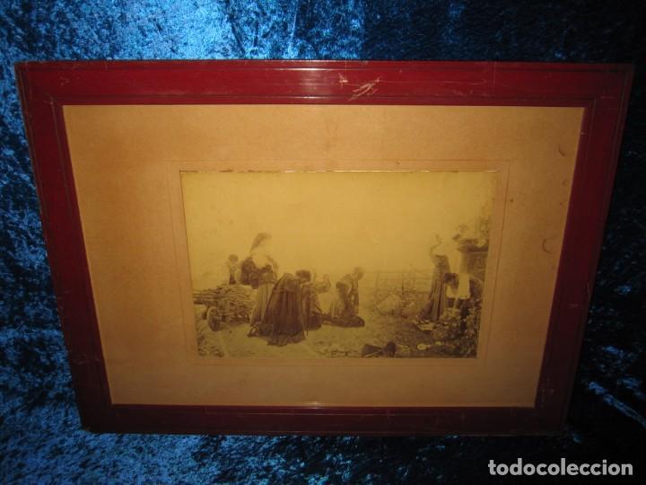 Arte: Fotograbado circa 1900 firmado dedicado Joaquín Luque Roselló Carlos Lamothe, Salve Regina. Málaga - Foto 21 - 232740310