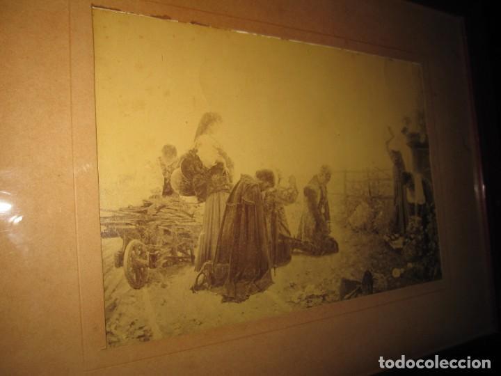 Arte: Fotograbado circa 1900 firmado dedicado Joaquín Luque Roselló Carlos Lamothe, Salve Regina. Málaga - Foto 24 - 232740310