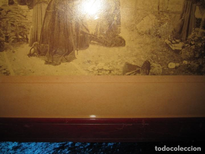Arte: Fotograbado circa 1900 firmado dedicado Joaquín Luque Roselló Carlos Lamothe, Salve Regina. Málaga - Foto 27 - 232740310