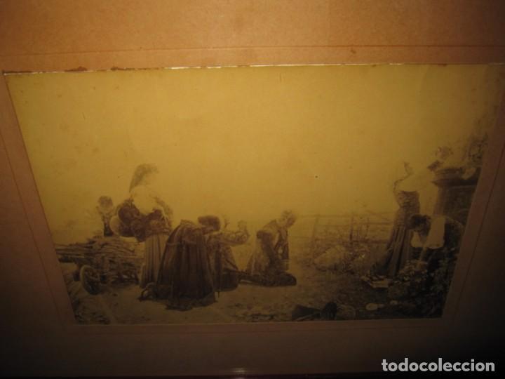 Arte: Fotograbado circa 1900 firmado dedicado Joaquín Luque Roselló Carlos Lamothe, Salve Regina. Málaga - Foto 31 - 232740310