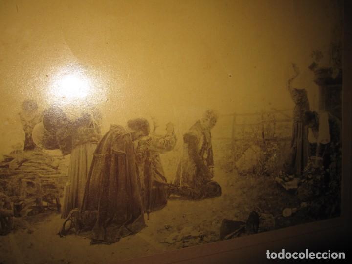 Arte: Fotograbado circa 1900 firmado dedicado Joaquín Luque Roselló Carlos Lamothe, Salve Regina. Málaga - Foto 32 - 232740310