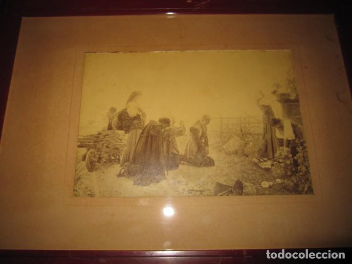 Arte: Fotograbado circa 1900 firmado dedicado Joaquín Luque Roselló Carlos Lamothe, Salve Regina. Málaga - Foto 34 - 232740310
