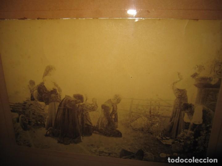 Arte: Fotograbado circa 1900 firmado dedicado Joaquín Luque Roselló Carlos Lamothe, Salve Regina. Málaga - Foto 35 - 232740310