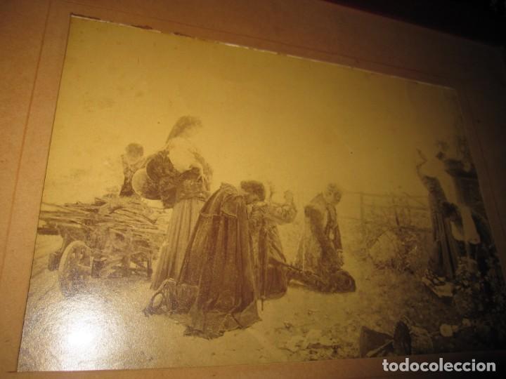 Arte: Fotograbado circa 1900 firmado dedicado Joaquín Luque Roselló Carlos Lamothe, Salve Regina. Málaga - Foto 37 - 232740310
