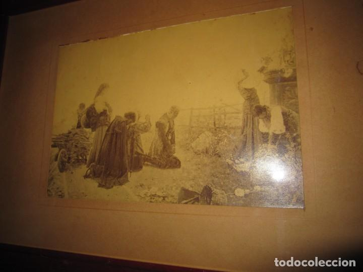 Arte: Fotograbado circa 1900 firmado dedicado Joaquín Luque Roselló Carlos Lamothe, Salve Regina. Málaga - Foto 38 - 232740310