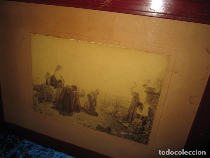 Arte: Fotograbado circa 1900 firmado dedicado Joaquín Luque Roselló Carlos Lamothe, Salve Regina. Málaga - Foto 39 - 232740310