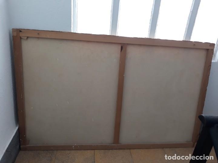 Arte: Cuadro barcos d vela antiguo papel de hilo lienzo 150 ancho×93 de alto - Foto 4 - 232749650