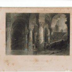 Arte: GRABADO FISHER.COM & SON DE CONSTANTINOPLA 1842. LO PUEDO ENVIAR RESTAURADO SIN MANCHAS 2. Lote 233035020