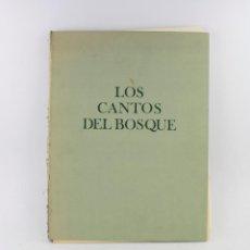 Arte: LOS CANTOS DEL BOSQUE, 1976, GRABADOS TAVY NOTTON, JESÚS E. CASARIEGO, EDICIONES VELÁZQUEZ, MADRID.. Lote 233080335