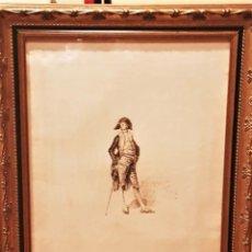Art: MARIANO FORTUNY Y MARSALA (REUS,1838 -ROMA,1874) GRABADO FIRMADO EN PLANCHA (43 X 21¨5). Lote 233367515