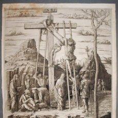 Arte: LA DESCENTE DE CROIX. MANTEGNA.. Lote 233649725