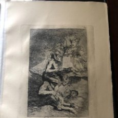 Arte: GRABADO DE FRANCISCO DE GOYA, 7 EDICION 1937, DEVOTA PROFESION, N. 70. Lote 233880095