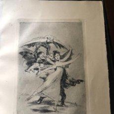 Arte: GRABADO DE FRANCISCO DE GOYA, 7 EDICION 1937, NO TE ESCAPARAS, N. 72. Lote 233880690
