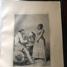 Arte: GRABADO DE FRANCISCO DE GOYA, 7 EDICION 1937, MEJOR ES HOLGAR, N. 73. Lote 233880920