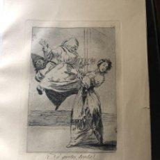 Arte: GRABADO DE FRANCISCO DE GOYA, 7 EDICION 1937, NO GRITES TONTA, N. 74. Lote 233881090