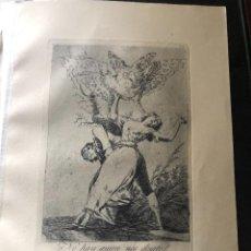 Arte: GRABADO DE FRANCISCO DE GOYA, 7 EDICION 1937, NO HAY QUIEN NOS DESATE, N. 75. Lote 233881335