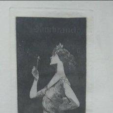 Arte: ALEXANDRE DE RIQUER: SEMBRANDO. FIRMADO CON LÁPIZ Y EN PLANCHA. ENMARCADO. Lote 233968095