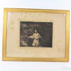 Arte: FRANCISCO DE GOYA, TRISTES PRESENTIMIENTOS, EDICIÓN 1937, ESTAMPA Nº 1 DE LOS DESASTRES DE LA GUERRA. Lote 234297655