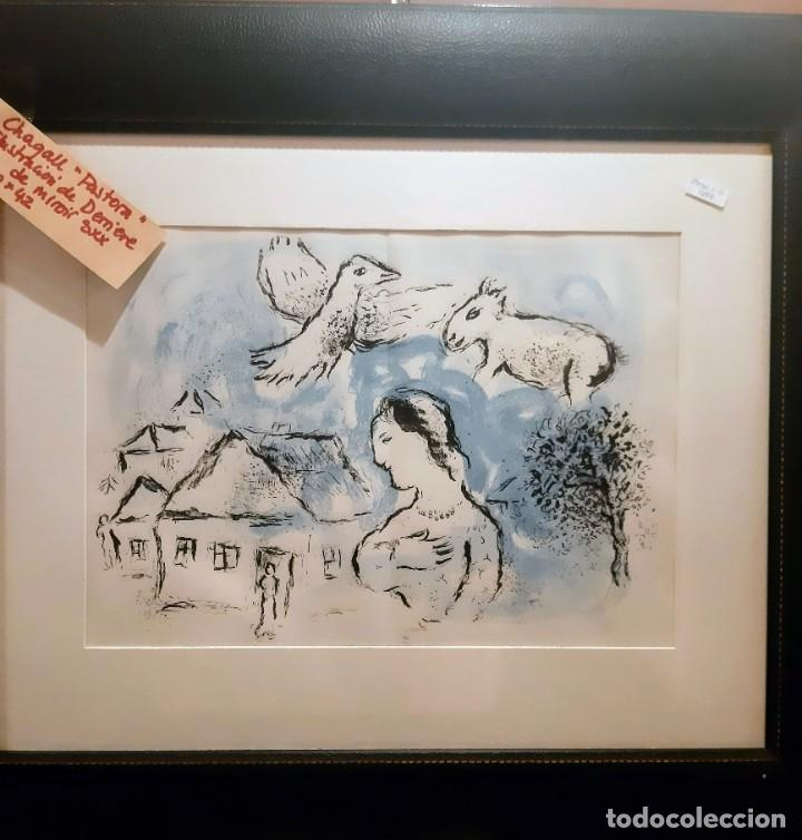 "CHAGALL ""PASTORA"" ILUSTRACION (Arte - Grabados - Modernos siglo XIX)"