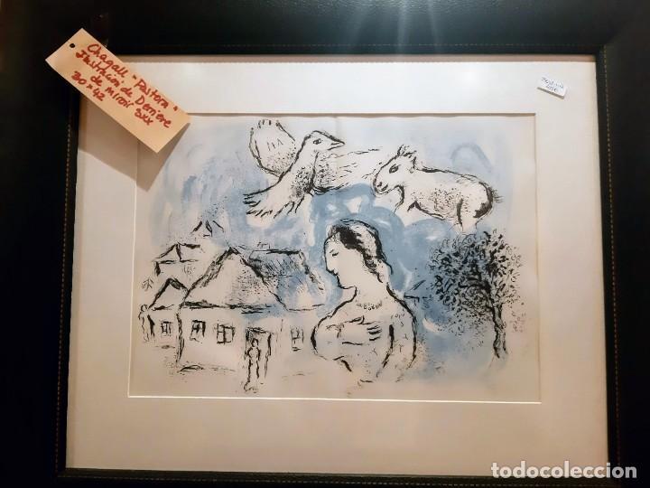 """Arte: Chagall """"Pastora"""" Ilustracion - Foto 2 - 234379190"""