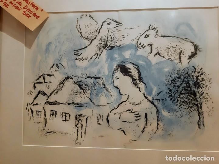 """Arte: Chagall """"Pastora"""" Ilustracion - Foto 3 - 234379190"""