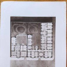 Arte: PROPRIETE DE MR. D. A SAINT-ETIENNE (LOIRE), PLANS DE L'HOTEL, MR. HENRI RIGAULT, 1897 60. Lote 234547555