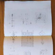 Arte: HOTEL DE M.M. MIRABAUD, AVENUE DE VILLIERS, A PARIS. GRILLE D'ENTREE, MR. LUCIEN MAGNE, 1897 57. Lote 234548405