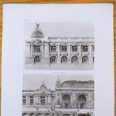 Arte: EXPOSITION DE 1900, BATIMENT DE LA GUERRE ET DE LA MARINE (CONCOURS). MR. JOANNY BERNARD. 1898 36. Lote 234556790