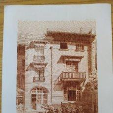 Arte: HOTEL DE M.S. 7 PLACE DES ETATS-UNIS, FACADE SUR LE JARDIN, MR. CH.GIRAULT, ARCHITECTE, 1896 26. Lote 234560510