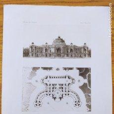 Arte: EXPOSITION DE 1900, CONCOURS DU PETIT PALAIS, PROJET DE MRS. CASSIEN-BERNARD ET COUSIN 1896 16. Lote 234563310