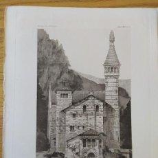 Arte: MAISON DE RETRAITE POUR UN ARTISTE, AU MONT-PILAT, CEVENNES_LOIRE,LATERALE, MR.FRANCOIS GARAS 1896 5. Lote 234565840