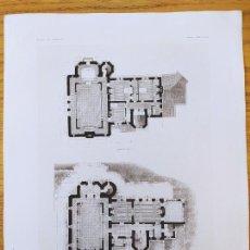 Arte: MAISON DE RETRAITE POUR UN ARTISTE, AU MONT-PILAT, CEVENNES_PLANS, MR.FRANCOIS GARAS 1896 4. Lote 234565995