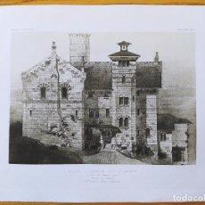Arte: MAISON DE RETRAITE POUR UN ARTISTE, AU MONT-PILAT, CEVENNES_LOIRE, FACADE, MR.FRANCOIS GARAS 1896 3. Lote 234566115
