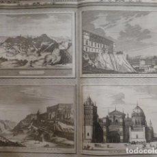 Arte: TOLEDO VISTAS DE LA CIUDAD GRABADO FRANCÉS SIGLO XVIII 36 X 45 CMTS. Lote 234728360