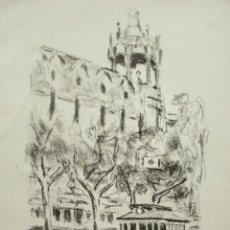 Arte: SIMÓ BUSOM GRABADO 24 X 18 CM. EJEMPLAR 21/350. FIRMADO Y FECHADO 1985.. Lote 234799830