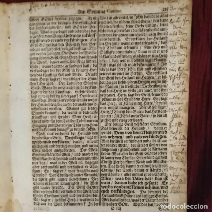 Arte: Antigua biblia luterana, siglo xv - xvi - Foto 4 - 234893455