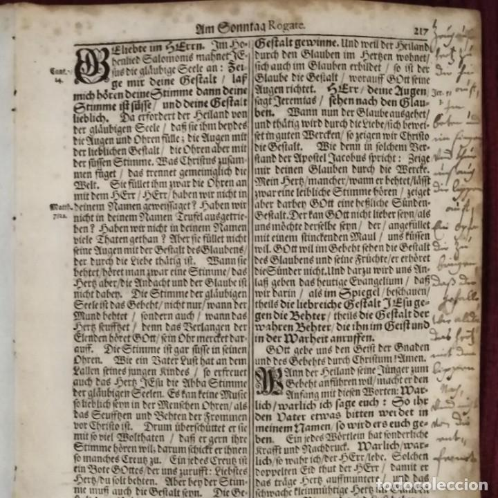 Arte: Antigua biblia luterana, siglo xv - xvi - Foto 7 - 234893455