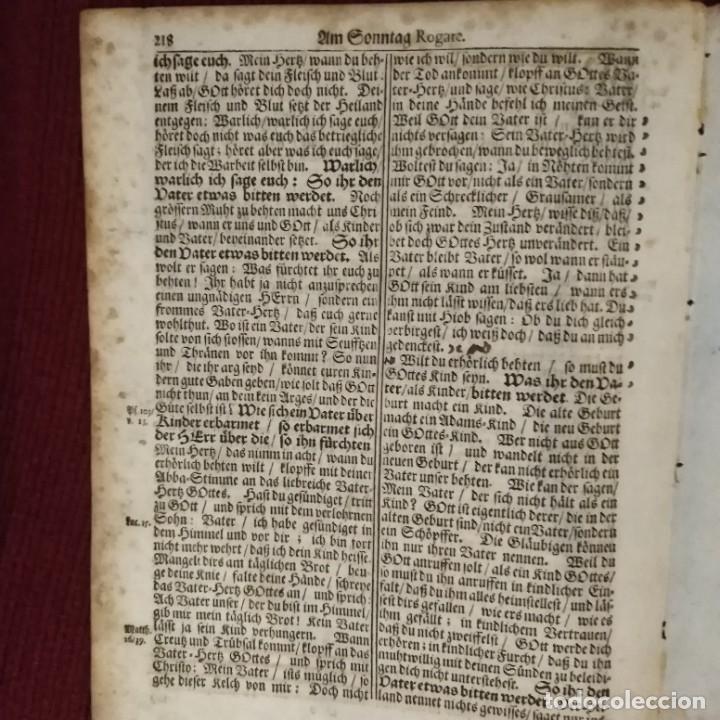 Arte: Antigua biblia luterana, siglo xv - xvi - Foto 8 - 234893455
