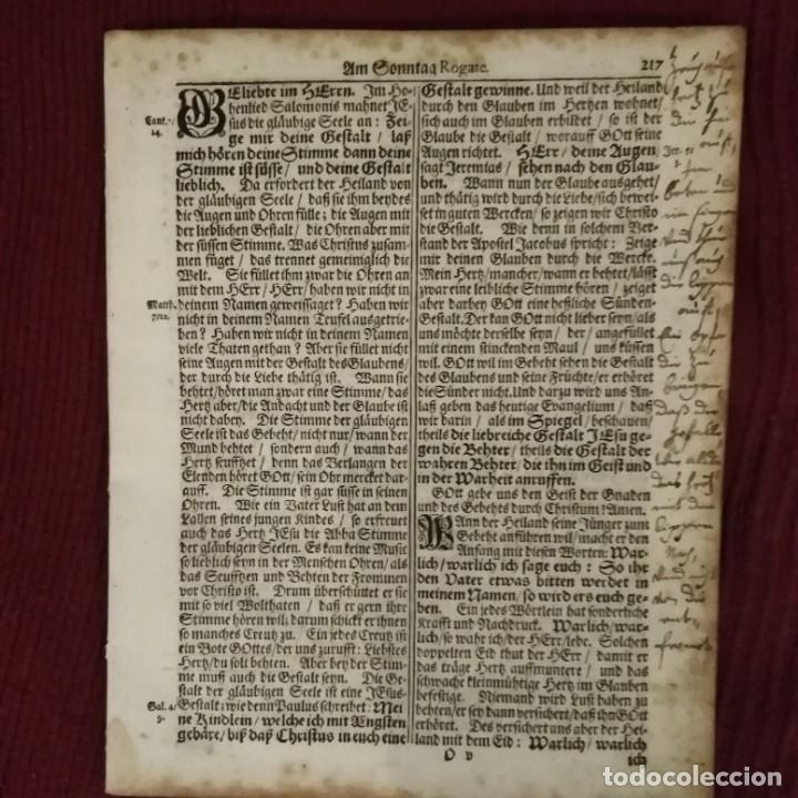 Arte: Antigua biblia luterana, siglo xv - xvi - Foto 9 - 234893455