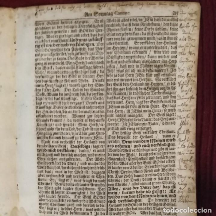 Arte: Antigua biblia luterana, siglo xv - xvi - Foto 11 - 234893455