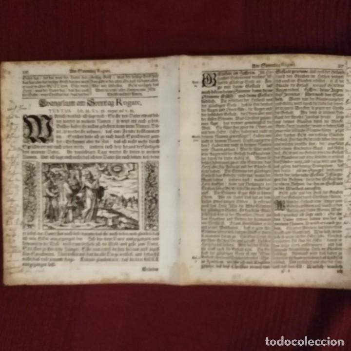 Arte: Antigua biblia luterana, siglo xv - xvi - Foto 12 - 234893455