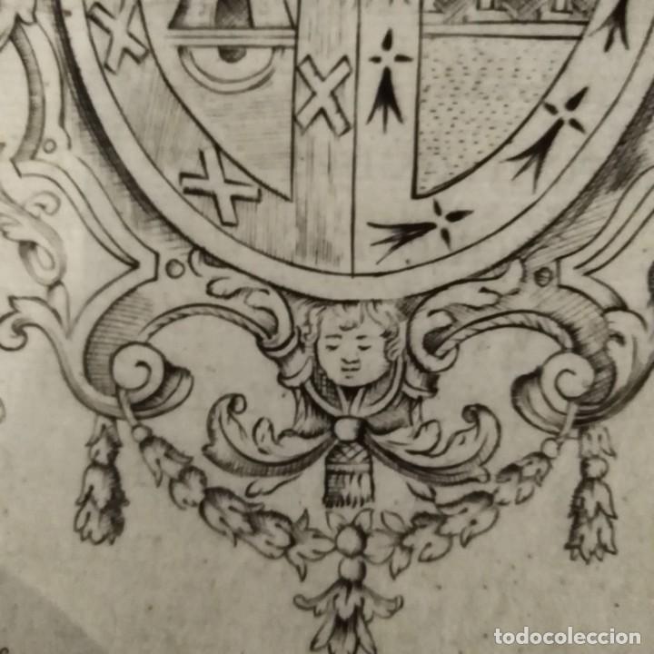Arte: Escudo heráldico siglo xviii - Foto 6 - 234908150
