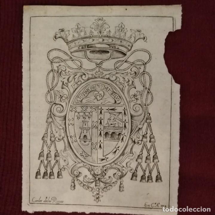 Arte: Escudo heráldico siglo xviii - Foto 8 - 234908150