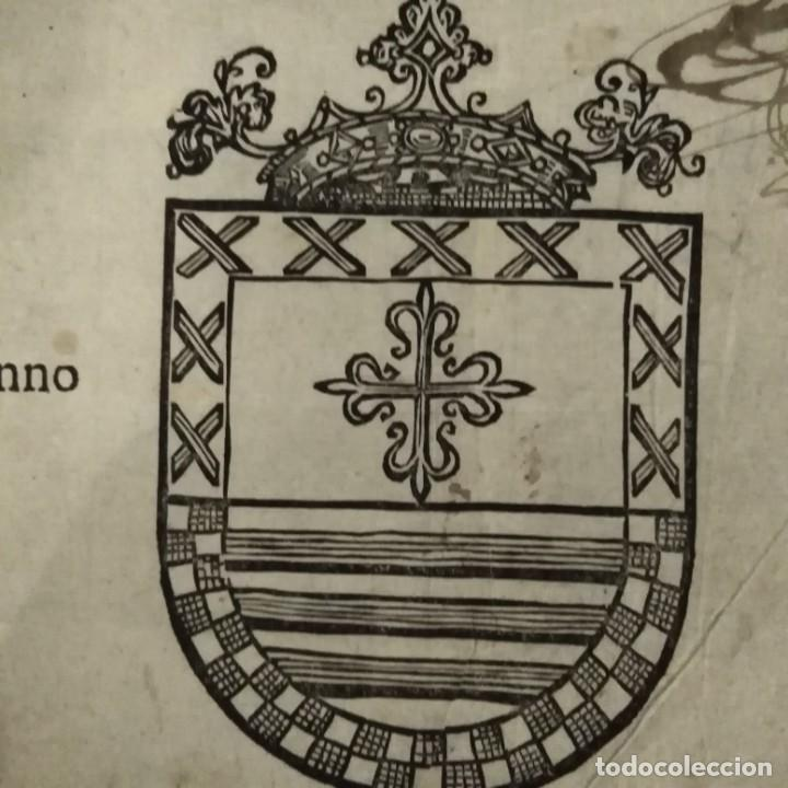 Arte: Escudo heráldico siglo XVII - Foto 2 - 234912475