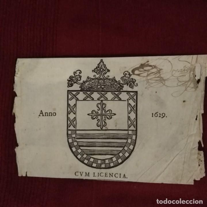 Arte: Escudo heráldico siglo XVII - Foto 6 - 234912475