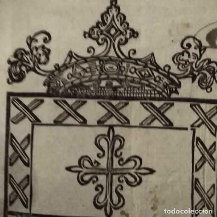 Arte: Escudo heráldico siglo XVII - Foto 7 - 234912475