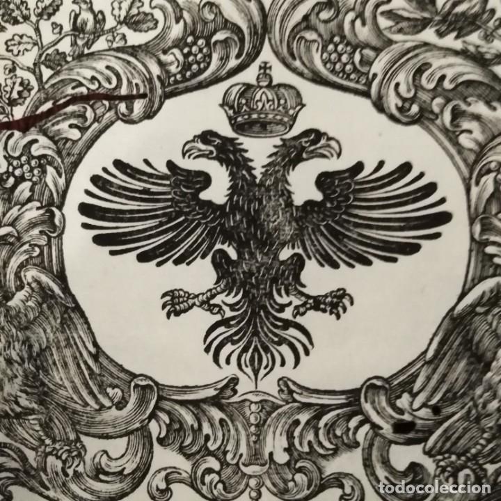 Arte: Escudo imperial siglo xviii - Foto 3 - 234915275
