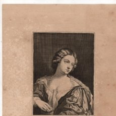 Arte: GRABADO PALMA SENIOR. LUCAS VORSTERMAN. C. 1660. Lote 235092470