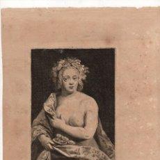 Arte: GRABADO PALMA SENIOR. I. TROYEN. C. 1660. Lote 235092585